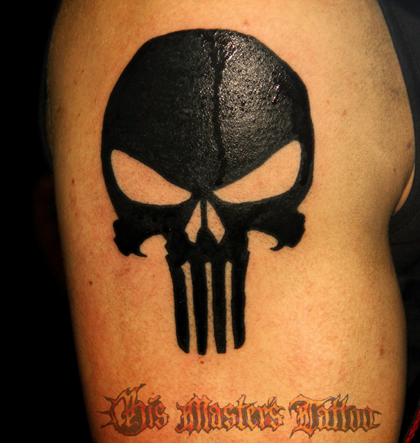Punisher tattoo designs 1