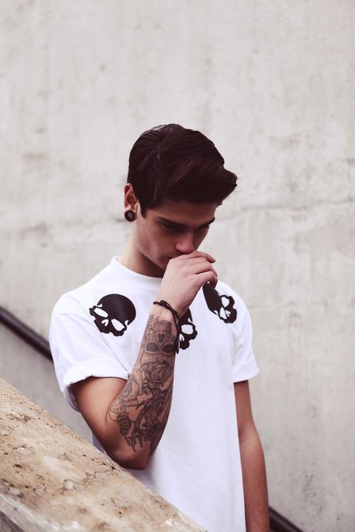 Class Villain skull t shirt
