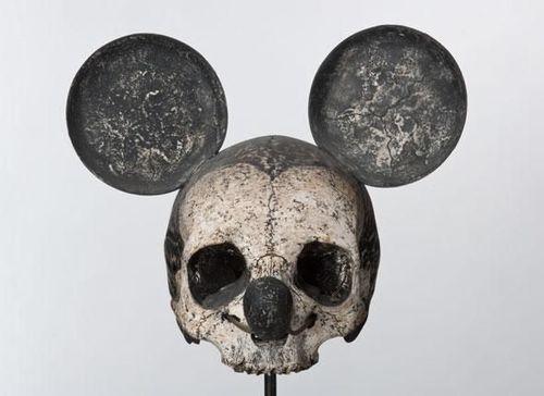 Mickey Mouse skull