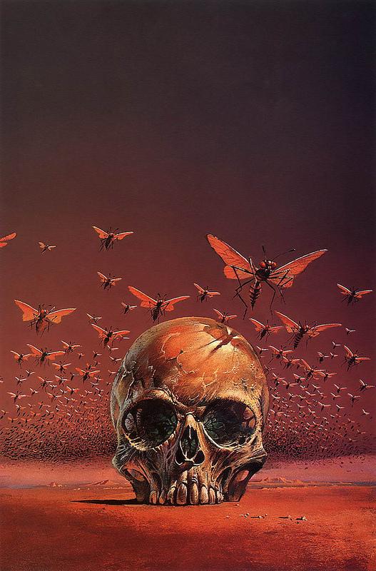 Bruce Pennington skull art