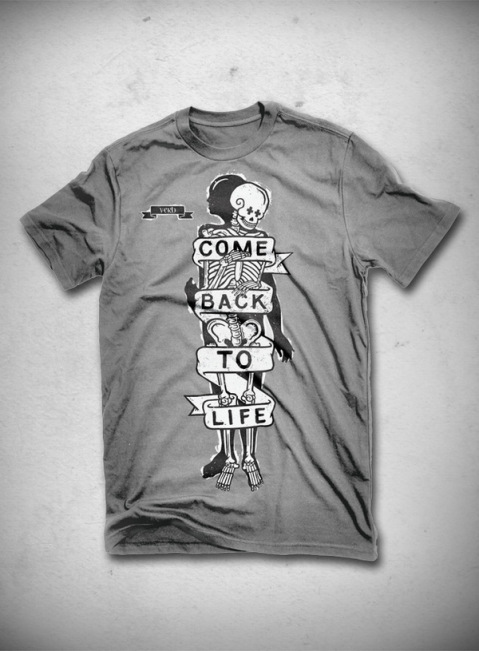 Come back to life T-shirt
