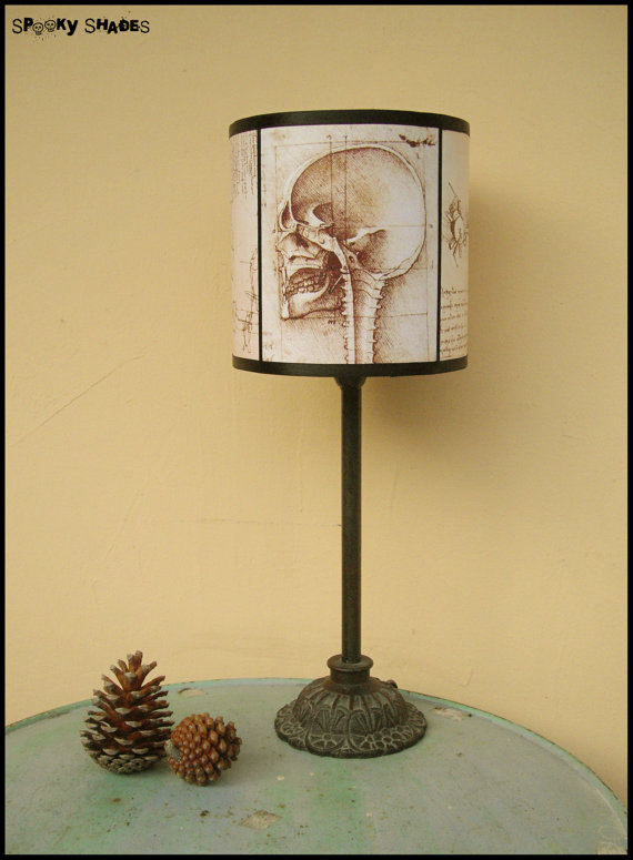 Da Vinci's Creed Skull lamp
