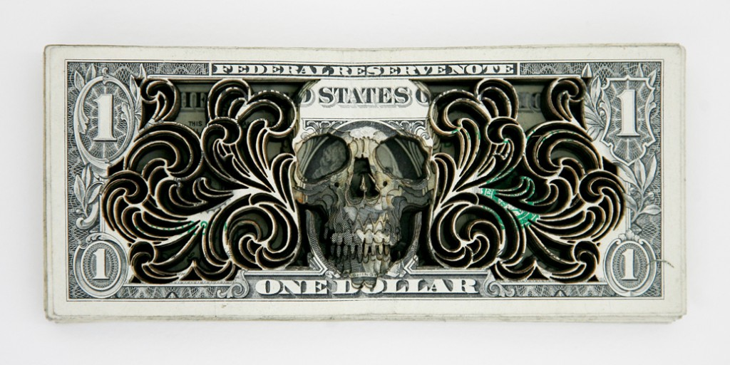 Dollar Sculpture (2)