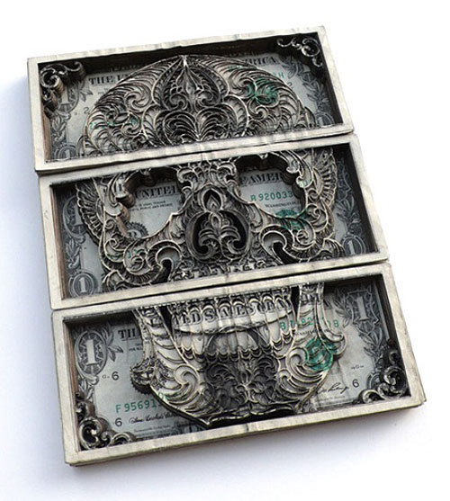 Dollar Sculpture
