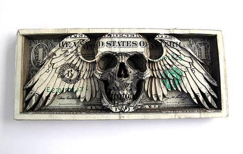 Dollar Sculptures by Scott Campbell 1