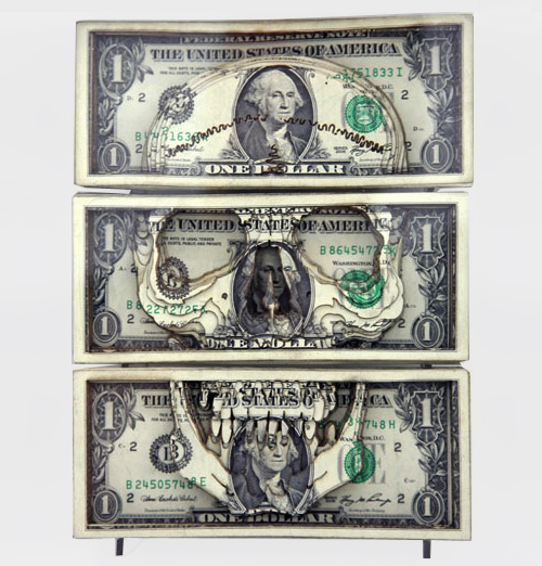 Dollar Sculptures by Scott Campbell 3