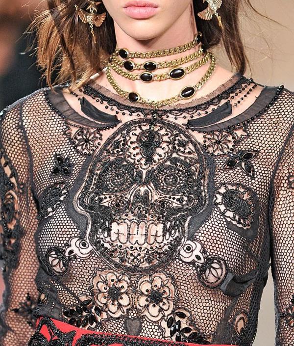 Emilio Pucci Skull Body Shirt 1