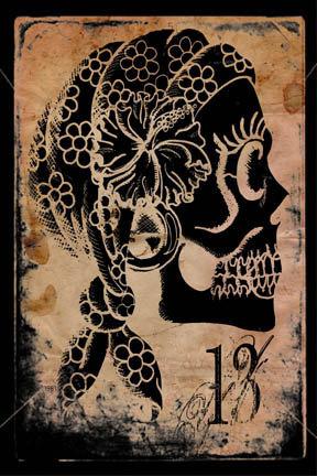 Gypsy Sugar Skull