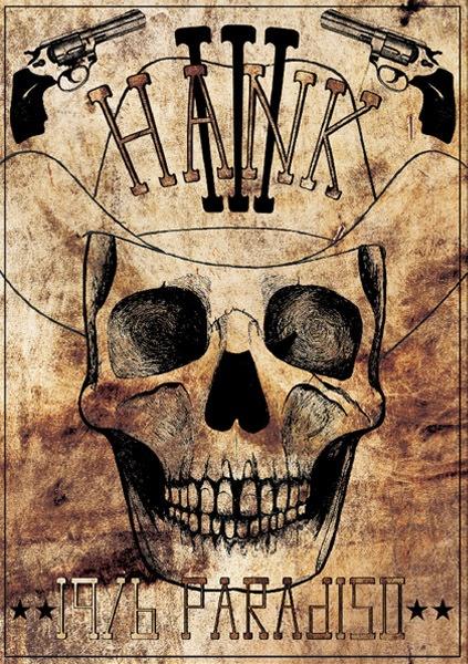 Hank III Skull Poster
