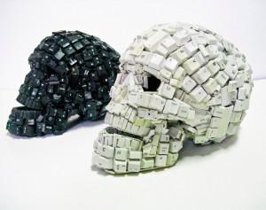 Keyboard Skull
