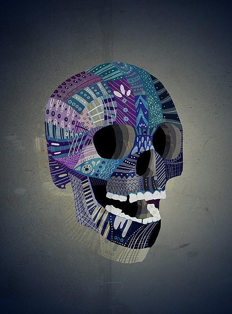 Mathis Rekowski Skull art