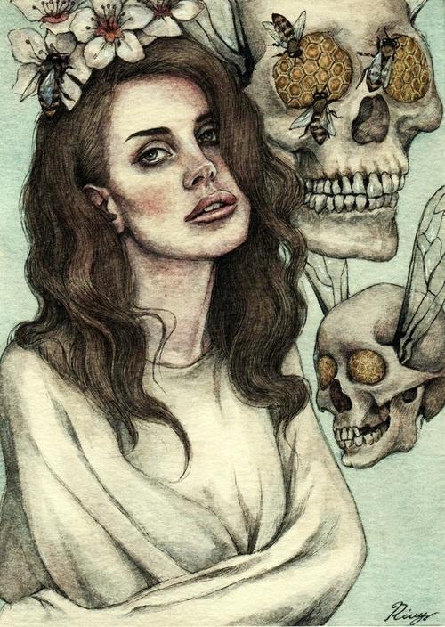 Psychedelic Lana Del Rey