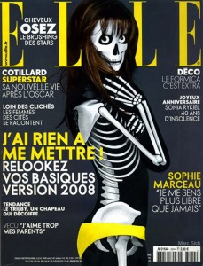 Skeleton Magazine Covers by Marc Sich