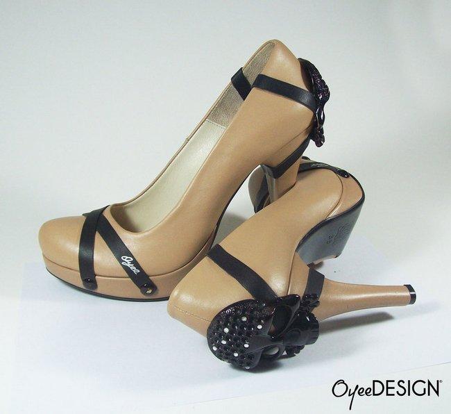 Skull high heels (2)