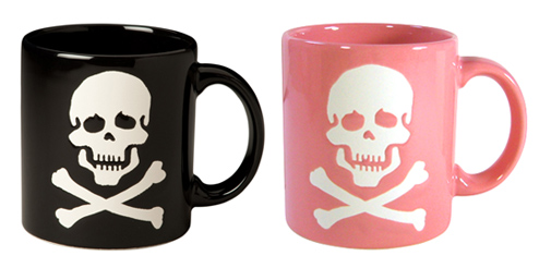Skull mug 3