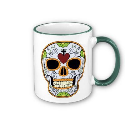 Skull mug 8