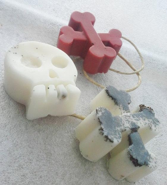 Skull soap 2