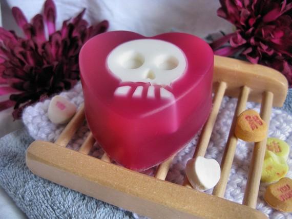 Skull soap 3