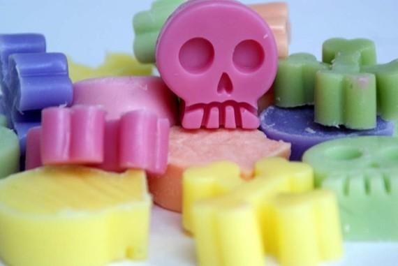 Skull soap 6