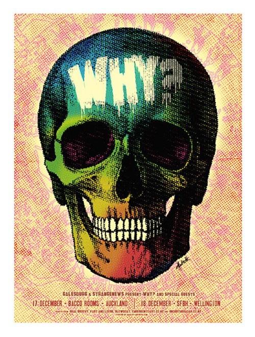 Why Skull poster