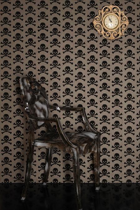 skull wallpaper for home