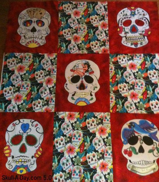 13 Skull Quilts designs
