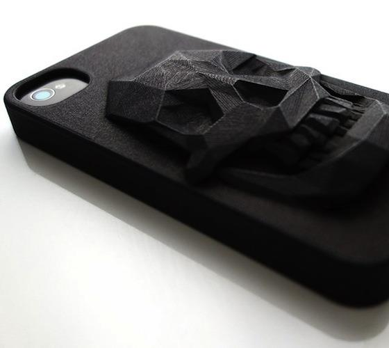 3d skull iphone case