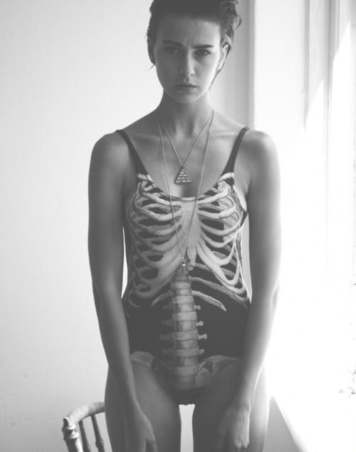 Black Milk Clothing skeleton bodysuit 2