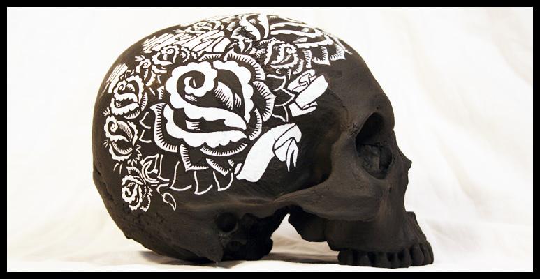 Brian Morris skull