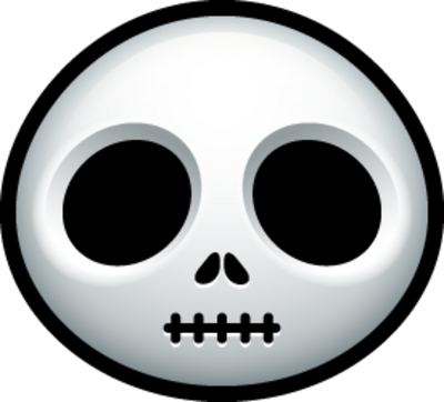 Cartoon Skull 1