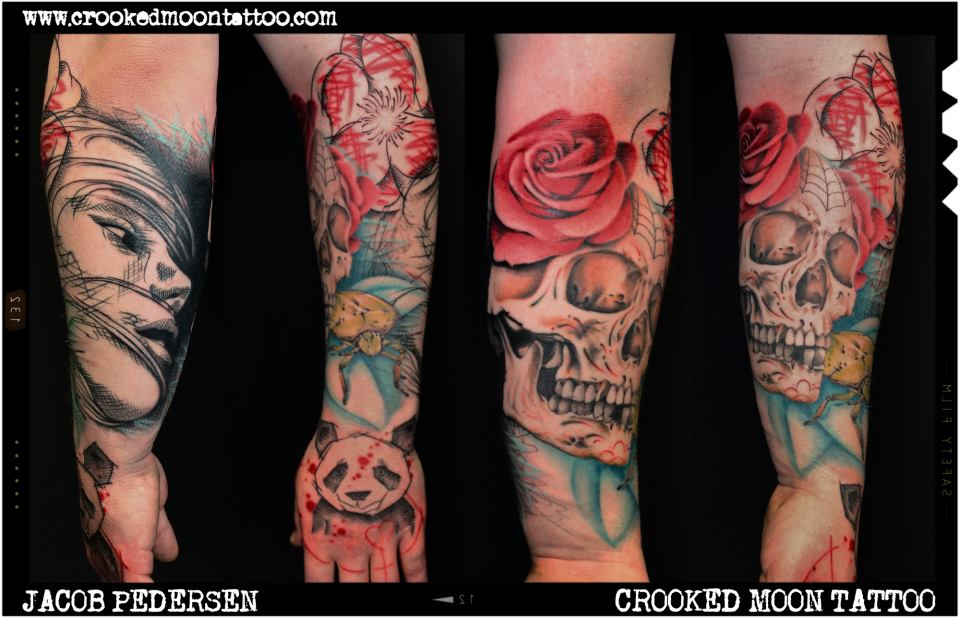 Jacob Pedersen tattoo 1