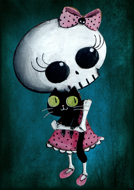 Little miss Death by Monika Suska