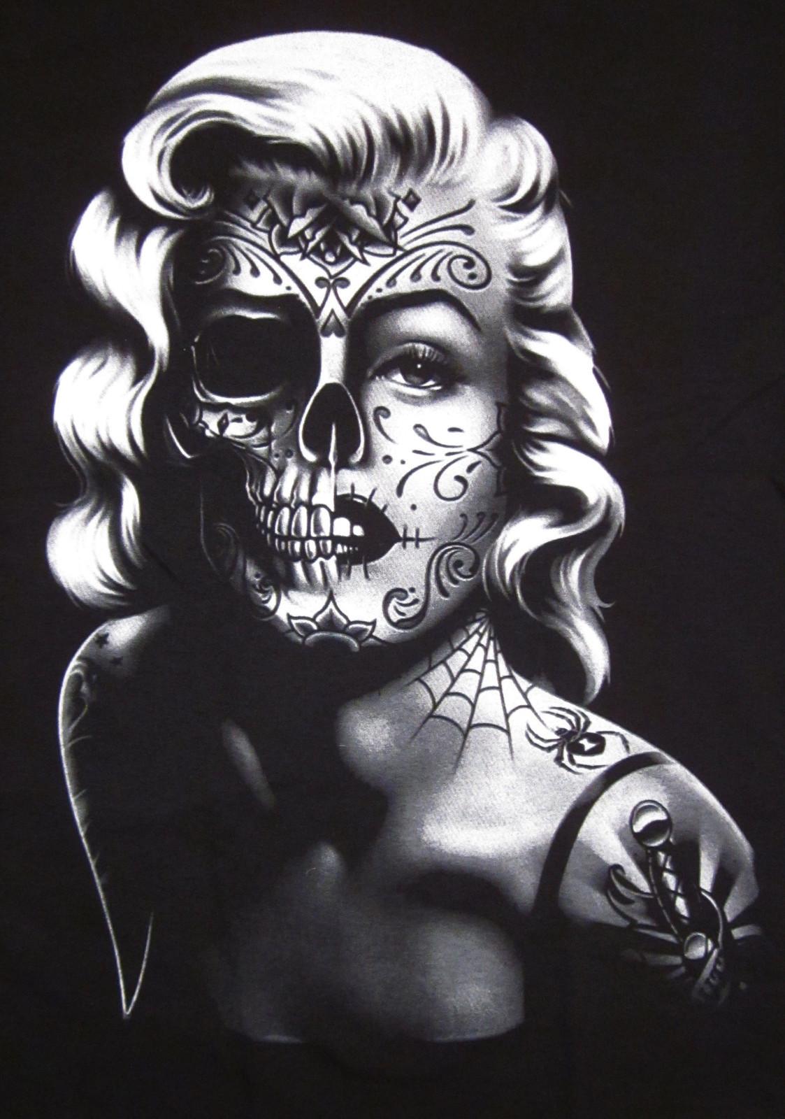 Marilyn Monroe skull 4