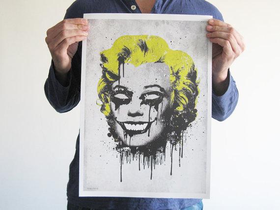 Marilyn Monroe skull 5
