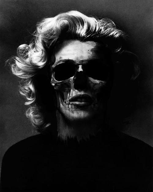 Marilyn Monroe skull 9