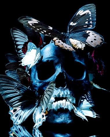 Philippe Pasqua skull