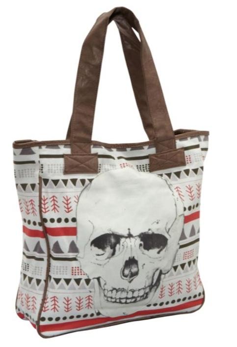 Shopper Skull handbag 1