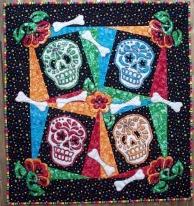 Skull Quilt 11