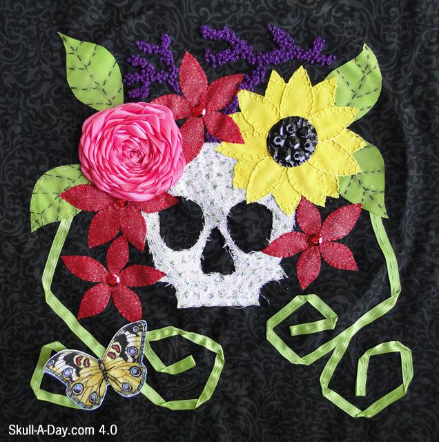 Skull-Quilt