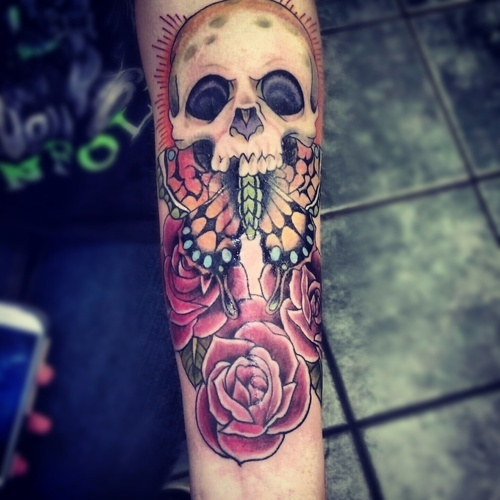 tattoos are very versatile tattoo designs and a popular skull tattoo ...