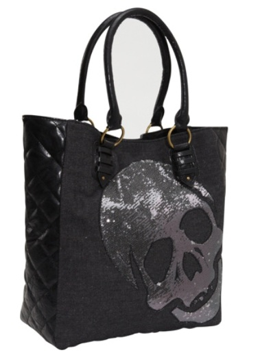 Skull handbag 4