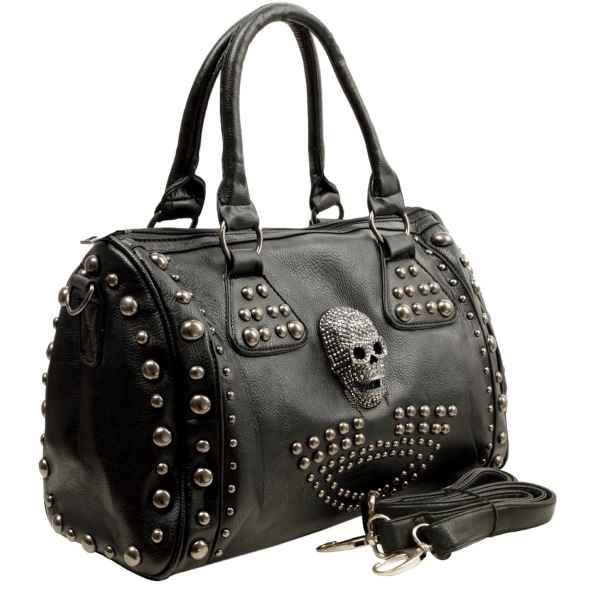 Skull handbag design 1