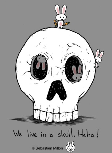 Skulls cartoon