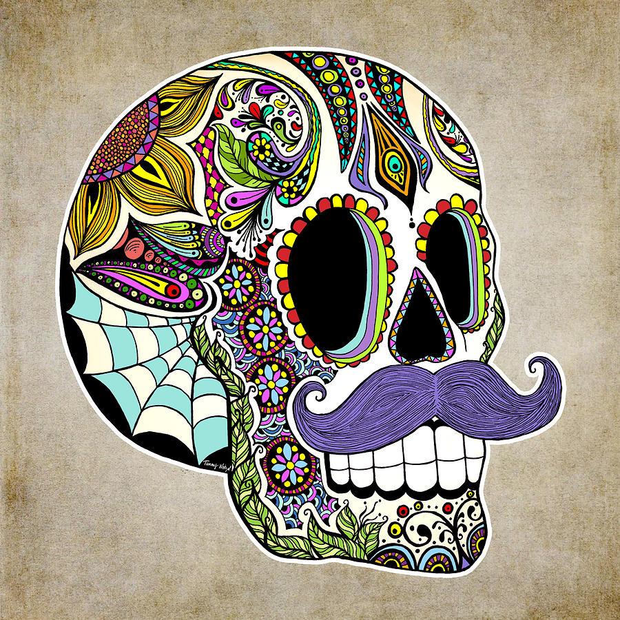 Sugar skull poster 1