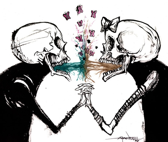 Vomit Is Love by Alex Pardee