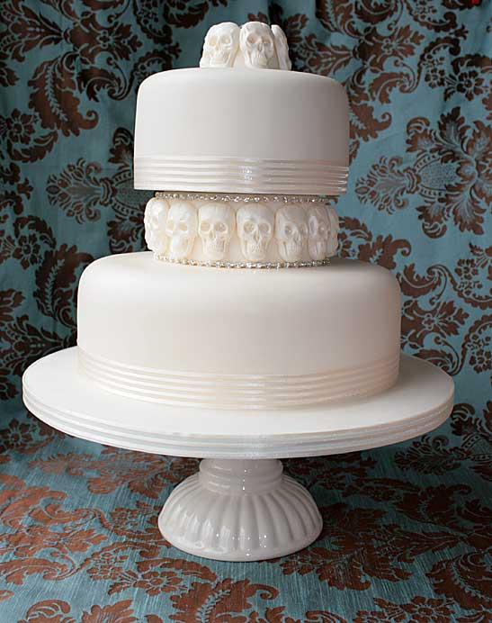 Wedding Cake Skulls