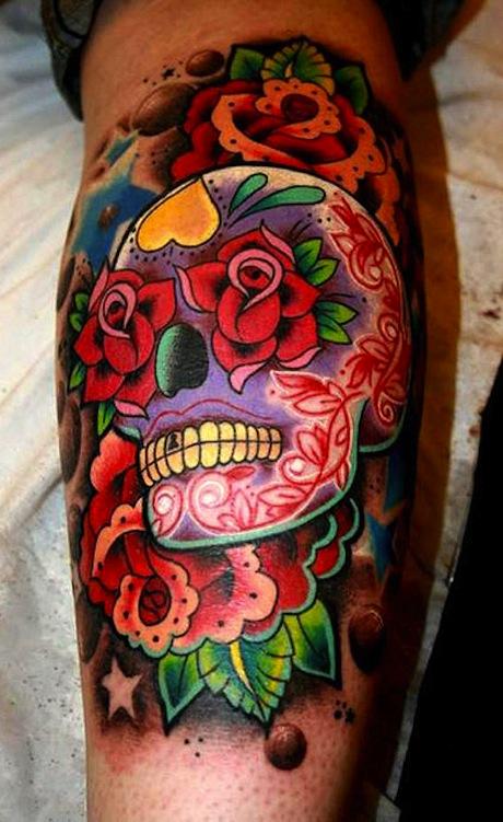 candy skull design