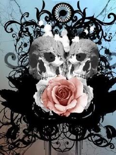 rose skulls 1