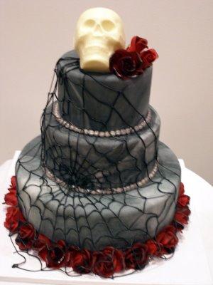 skull cake 2