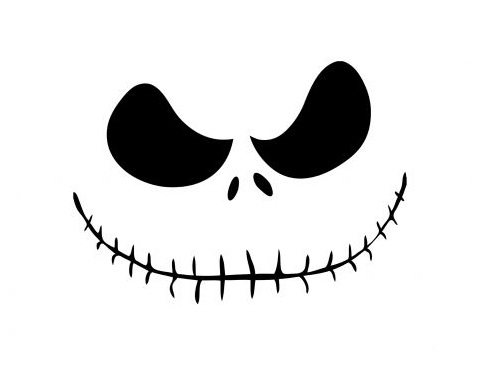 skull cartoon poster